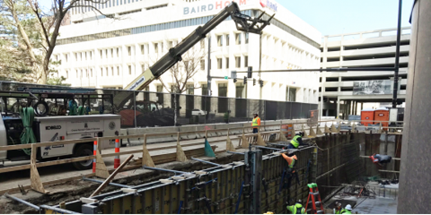 Omaha Foundation Department Completes First Cast In Place Utility Vault