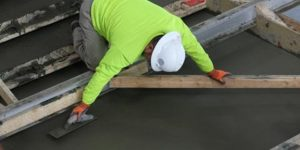 Lincoln flatwork department handles intricate concrete steps for SCC Health Sciences