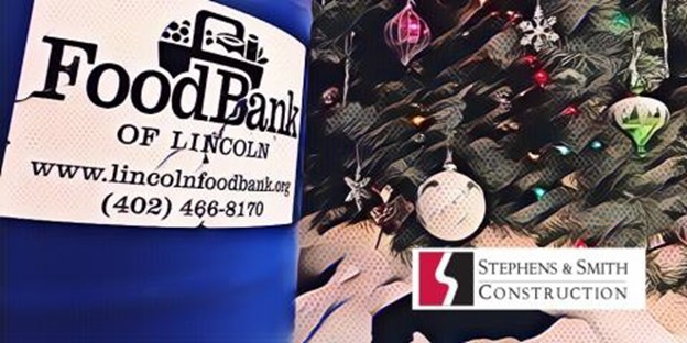 Stephens & Smith Construction Company Hosts Food Drive