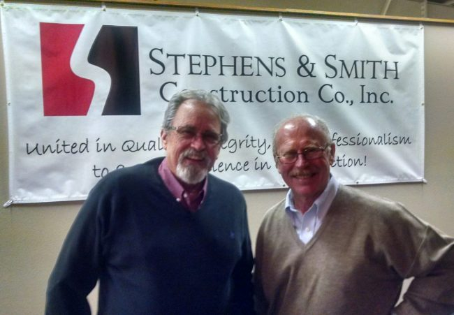 Concrete Industry Leaders Bob Stephens & Mike Smith with Stephens & Smith